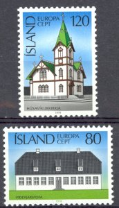 Iceland Sc# 506-507 MNH 1978 Europa