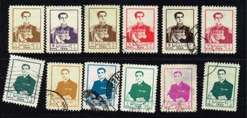 IRAN PERSIA Stamp  USED STAMPS COLLECTION LOT #3
