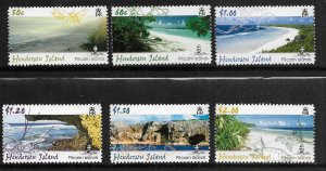 PITCAIRN ISLANDS,631-636, MNH, HENDERSON ISLAND