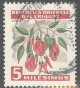 Uruguay Scott 605 Used stamp