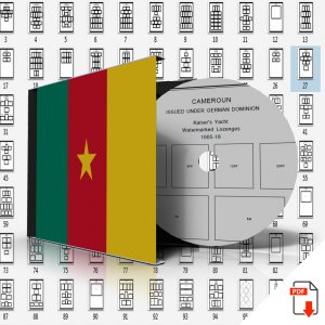 CAMEROUN STAMP ALBUM PAGES 1863-2011 (168 PDF digital pages)