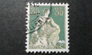 Switzerland #135 used COLOR SHIFT e206 9995