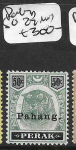 MALAYA PAHANG (P1211B)  TIGER 50C  SG 22  MOG