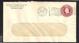 Edgar T Wards Sons Co Detroit MI 1935 cover