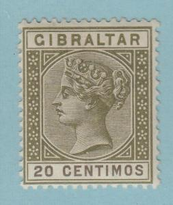 Gibraltar 31a Postfrisch mit Scharnier Og Kein Fehler Sehr Fein
