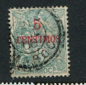French Morocco #15 used