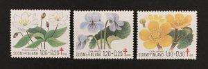 Finland 1983 #b230-2, Tuberculosis, MNH.