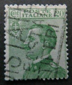 A8P26F35 Italia Italy 1908-27 20c used