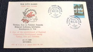 TURKEY FDC, COVER COLLECTION LOT  #2