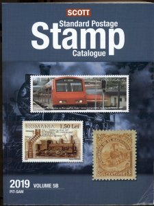SCOTT STANDARD POSTAGE STAMP CATALOGS 2019, Volumes 5A & 5B Countries N to SAM