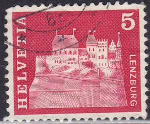 Switzerland 440 USED 1968 Lenzburg