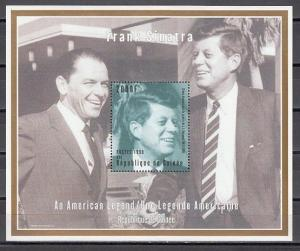 Guinea, 1998 Cinderella issue. President John Kennedy s/sheet. *