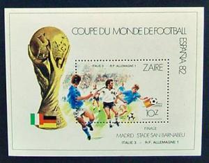 Zaire, Scott 1070, MNH, World Cup Soccer