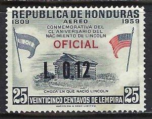 Honduras C352 VFU 623B