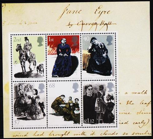 Great Britain. 2004 Miniature Sheet. Charlotte Bronte.S.G.MS2524 Unmounted Mint