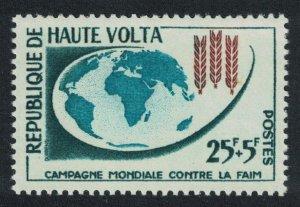 Upper Volta Freedom from Hunger 1v 1963 MNH SG#112