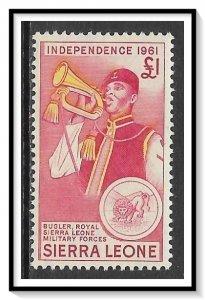Sierra Leone #220 Bugler MH