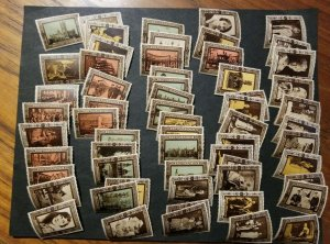 Great Britain Complete Mint Set of 1937 Coronation Labels qty- 60