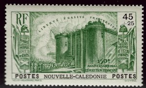 New Caledonia B5 Mint OG VF hr SCV$13...French Colonies are Hot!