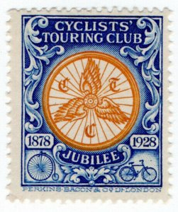 (I.B) Cinderella Collection : Cyclists' Touring Club Jubilee 1928