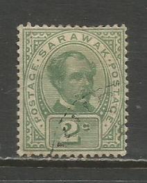 Sarawak   #37  Used  (1899)  c.v. $1.00