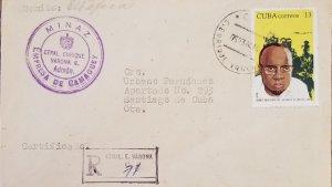 O) 1974 CUBA, CARIBBEAN, AMILCAR CABRAL, GUINEA BISSAU FREEDOM FIGHTER, CIRCU