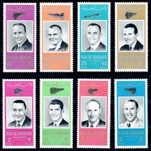 [66177] Ras Al Khaima 1966 Space Travel Weltraum Astronauts  MNH