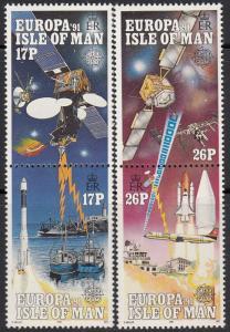 Isle of Man #469a-471a MNH CV$4.10 Communications Europa CEPT