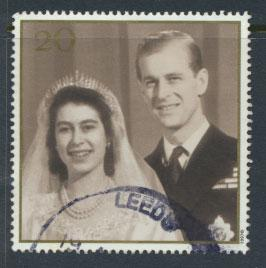 Great Britain SG 2011 Used    - Royal Golden Wedding