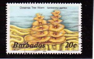Barbados  Scott#  645  Used