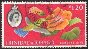 Trinidad & Tobago Sc# 101 Used 1960 Queen's Hall, Port-of-Spain