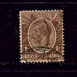 Kenya UT 18 Used 1922 issue