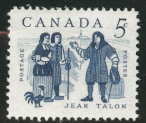 CANADA Scott 398 MNH** 1962 Jean Talon stamp CV$0.30
