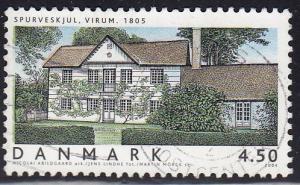 Denmark #1267 Architecture. Spirvesljul , Virum, 2004. Used