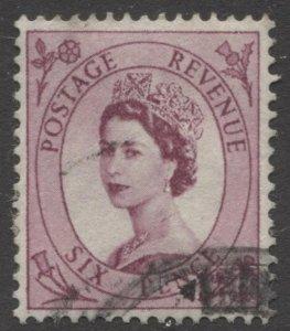 STAMP STATION PERTH GB #300 QEII Definitive  Used 1952-54