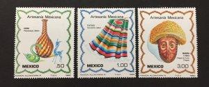 Mexico 1980 #1220-2, Mexican Art, MNH.
