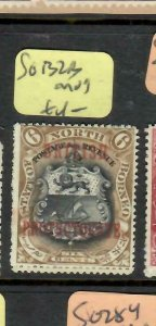 NORTH BORNEO  (P1805B)  6C   BP  LION  SG 132B      MOG