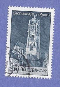 France Scott #1190 Rodex Cathedral (1967) Used