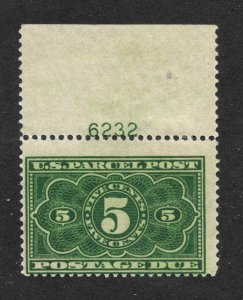 JQ3, 5c. Parcel Post, Postage Due, Plate # Single,