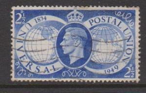 Great Britain Sc#276 Used