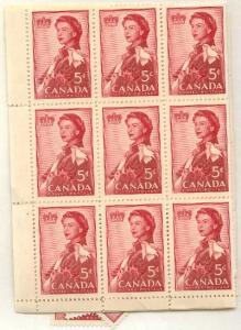 Canada - 1959 5c Royal Visit X 100 mint #386