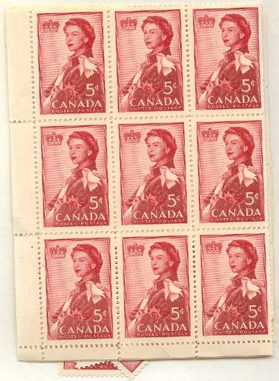 Canada - 1959 5c Royal Visit X 100 mint #386