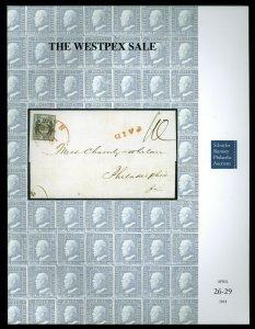 Schuyler Rumsey Auction Catalog: Sale 78: The WESTPEX Sale, Apr. 26-29, 2018