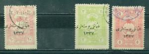 Turkey In Asia #49//52  Used  Scott $7.50   Missing #50