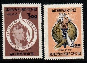 South Korea  414 - 415   MNH $ 3.20