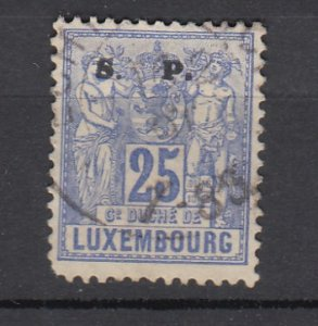 J25805  jlstamps 1882 luxembourg used #o59 ovpt