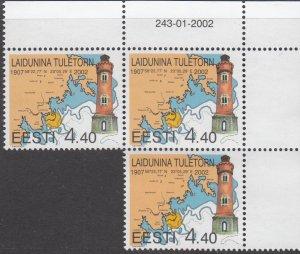 Estonia,  MNH, Sc 434,2002, Lighthouse