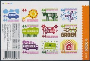 Netherlands stamp Definitive self-adhesive minisheet MNH 2008 WS194707