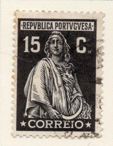 Portugal 1926 Early Ceres Issue Fine Used 15c. 047497
