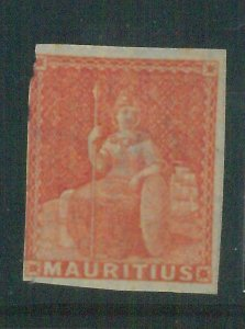 86989a  -   MAURITIUS - STAMP - Stanley Gibbons #  30 - MINT Hinged  MLH